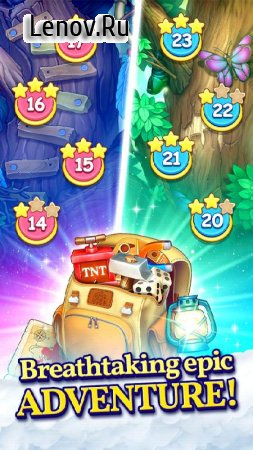 Puzzle Heart Match-3 Adventure v 2.2.5 Мод (Endless lives/All bonuses are open)