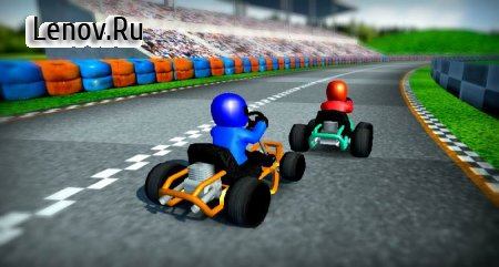 Rush Kart Racing 3D v 4.0 (Mod Money)