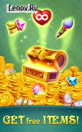 Gem Blast: Magic Match Puzzle v 20.0630.00 Мод (Unlimited Lives/Coins/Boosters/Reward Box)