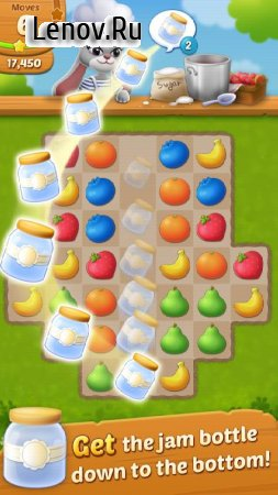 Fruit Jam: Puzzle Garden v 1.0.14 Мод (Unlimited Coins/Boosters/Ads-free)