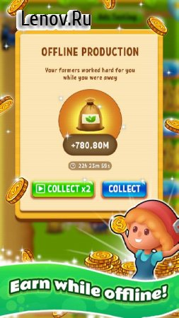Farm Tycoon - life idle simulator clicker strategy v 0.2.0 (Mod Money)