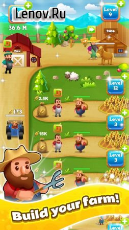 Idle Farm Tycoon - a Cash, Inc and Money Idle Game v 1.0 (Mod Money)