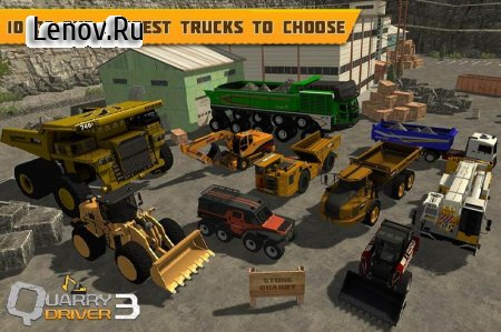 Quarry Driver 3: Giant Trucks v 1.0 (Mod Money/Unlocked)
