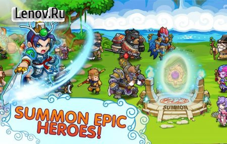 Kingdom Defender v 2.5.00 Мод (Enemy Can't Attack/One Hit/High Damage)