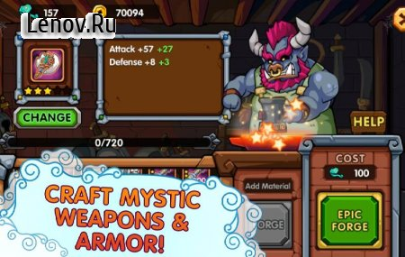 Kingdom Defender v 2.4.09 Мод (Enemy Can't Attack/One Hit/High Damage)