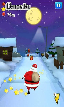 Running With Santa: Xmas Run v 1.9 (Mod Money)