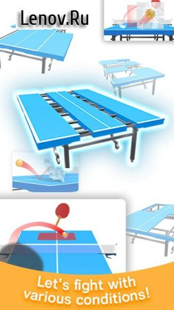 Table Tennis 3D v 1.0.35 (Mod Money)