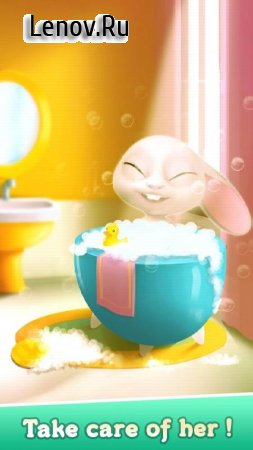 Bu the Baby Bunny - Cute pet care game v 1.03 Мод (gems/coins)