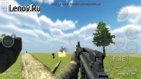 Operation Z-For Zombies First/Third Person shootin v 1.0 Мод (полная версия)