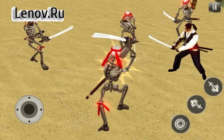 Pirates Caribbean: Dead Army - Arena Sword Fight v 1.0.8 Мод (Unlock Level)