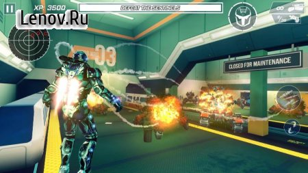 Iron Avenger : Origins v 1.12 (Mod Money/Free Upgrade/Shopping)