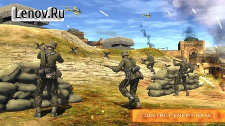World War 2 Counter Shooter Battleground Survival v 1.0.3 (Mod Money)