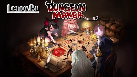 Dungeon Maker v 1.11.09 b555 Mod (Free Shopping/Red Devils to Unlimited)