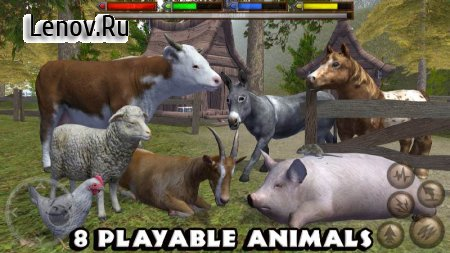Ultimate Farm Simulator v 1.1 Мод (No Skill CD)