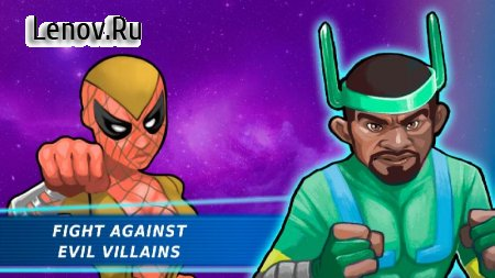 Superheroes Vs Villains v 2.8 Мод (Unlimited Money/Plutonium)