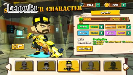 Super Battle Online - Battle Royale Game v1.0.7 Мод (No Upgrade Cost/x2 Kill EXP/Gold)