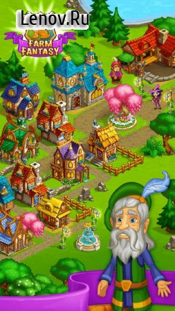 Farm Fantasy: Fantastic Day and Happy Magic Beasts v 1.28 Мод (Free Shopping)