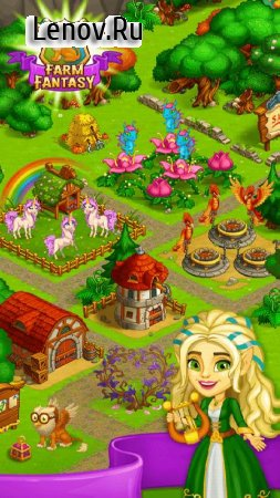 Farm Fantasy 2 v 1.27 Мод (Free Shopping)