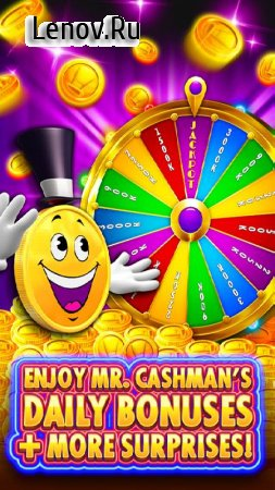 Cashman Casino - Free Slots Machines & Vegas Games v 2.6.159 Мод (Unlimited Coins)