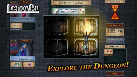 One Deck Dungeon v 1.3.1 Мод (Unlocked)