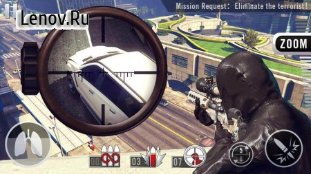 Sniper Shot 3D: Call of Snipers v 1.5.0 Мод (Free Shopping)