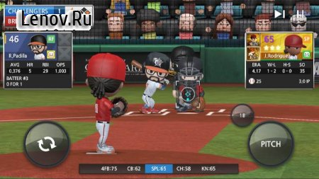 BASEBALL 9 v 1.2.0 Мод (gems/coins/resources)
