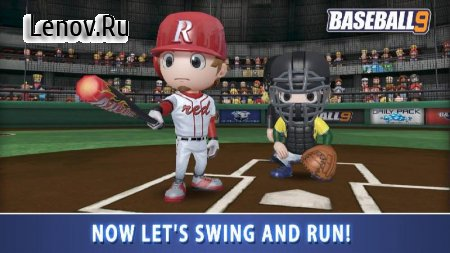 BASEBALL 9 v 1.4.2 Мод (gems/coins/resources)
