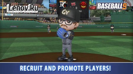 BASEBALL 9 v 1.3.8 Мод (gems/coins/resources)