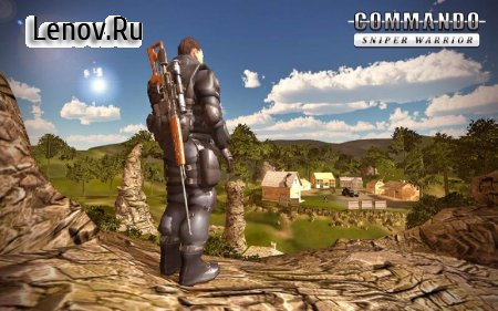 Sniper Ghost Commando Warrior - Jungle Survival v 1.1.8 Мод (Free Shopping)
