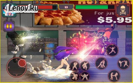 Ultimate Street Super Girl Fight 2018 v 1.2 Мод (Unlock Game Card)