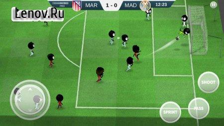 Stickman Soccer 2018 v 2.2.5 Мод (много денег)