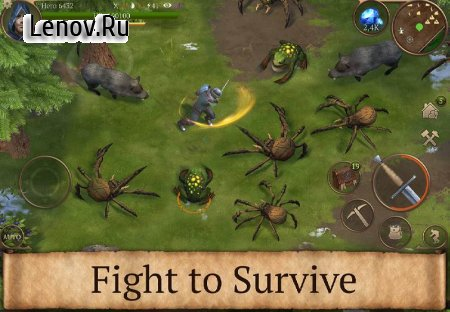 Stormfall: Saga of Survival v 1.14.6 Мод (No Hunger)