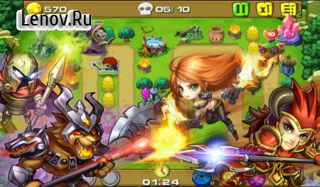 Legendary Wars Defense v 1.0.5 (Mod Money)