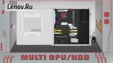 PC Architect Advanced (PC building simulator) v 1.8.0 Мод (много денег)