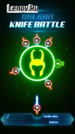 Super Heroes Knife Battle_Avengers Knife Battle v 1.3 (Mod Money)