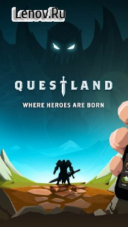 Questland: Turn Based RPG v 3.6.0 Мод (Mana Gain + 10 Per Strike/Can Always Use Skip)