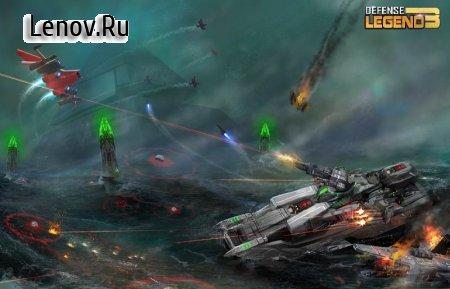 Defense Legend 3: Future War v 2.6.2 Мод (много денег)