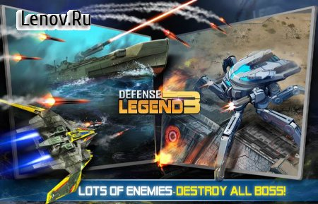 Defense Legend 3: Future War v 2.4.5 (Mod Money)