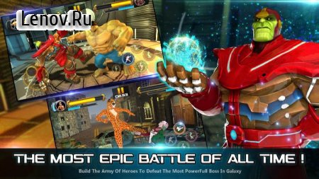 Superhero Fighting Games 3D - War of Infinity Gods v 1.0 Мод (много денег)