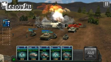 Commander Battle v 1.0.11 Мод (Dump Enemy)