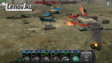 Commander Battle v 1.0.1 Мод (Dump Enemy)