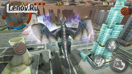 City Smasher v 1.7 Мод (X5 Player HP/SP/FP/CoinGain)