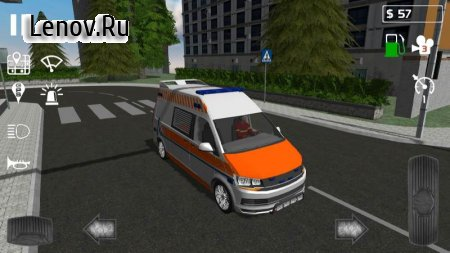 Emergency Ambulance Simulator v 1.0.2 Мод (Ads-free)