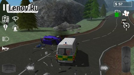 Emergency Ambulance Simulator v 1.0.2 Мод (Ads-free)