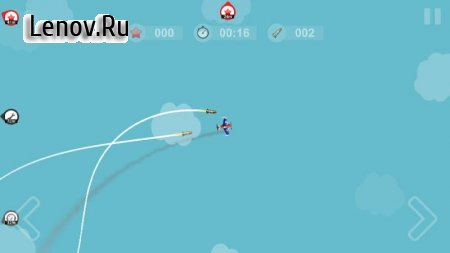 Missile Escape v 1.4.0 Мод (Free Shopping)