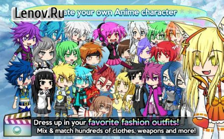 Gacha Studio (Anime Dress Up) v 2.0.3 Мод (Infinite Gem/Infinite 5/6 Ticket)