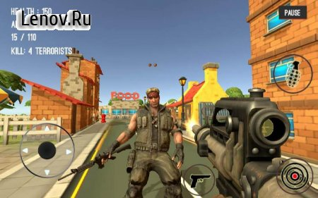Counter Attack Terrorist City v 1.01 (Mod Money)