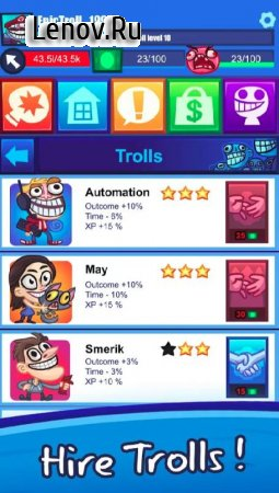Troll Face Clicker Quest v 0.93 (Mod Money)