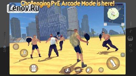Battle Royale Simulator PvE v 1.0.2 Мод (Unlimite Items)