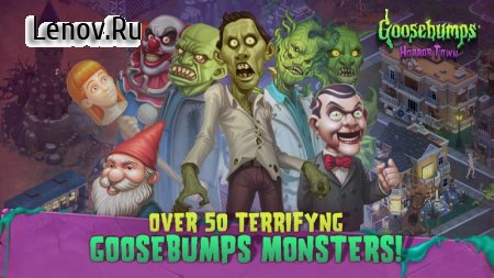 Goosebumps HorrorTown - The Scariest Monster City! v 0.6.3 Мод (много денег)